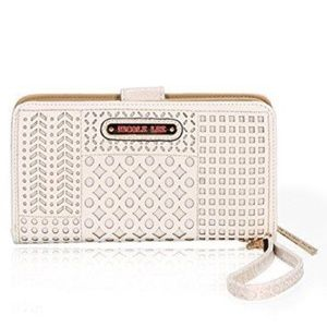 Defective Nicole Lee ISABELLA LASER CUT WALLET